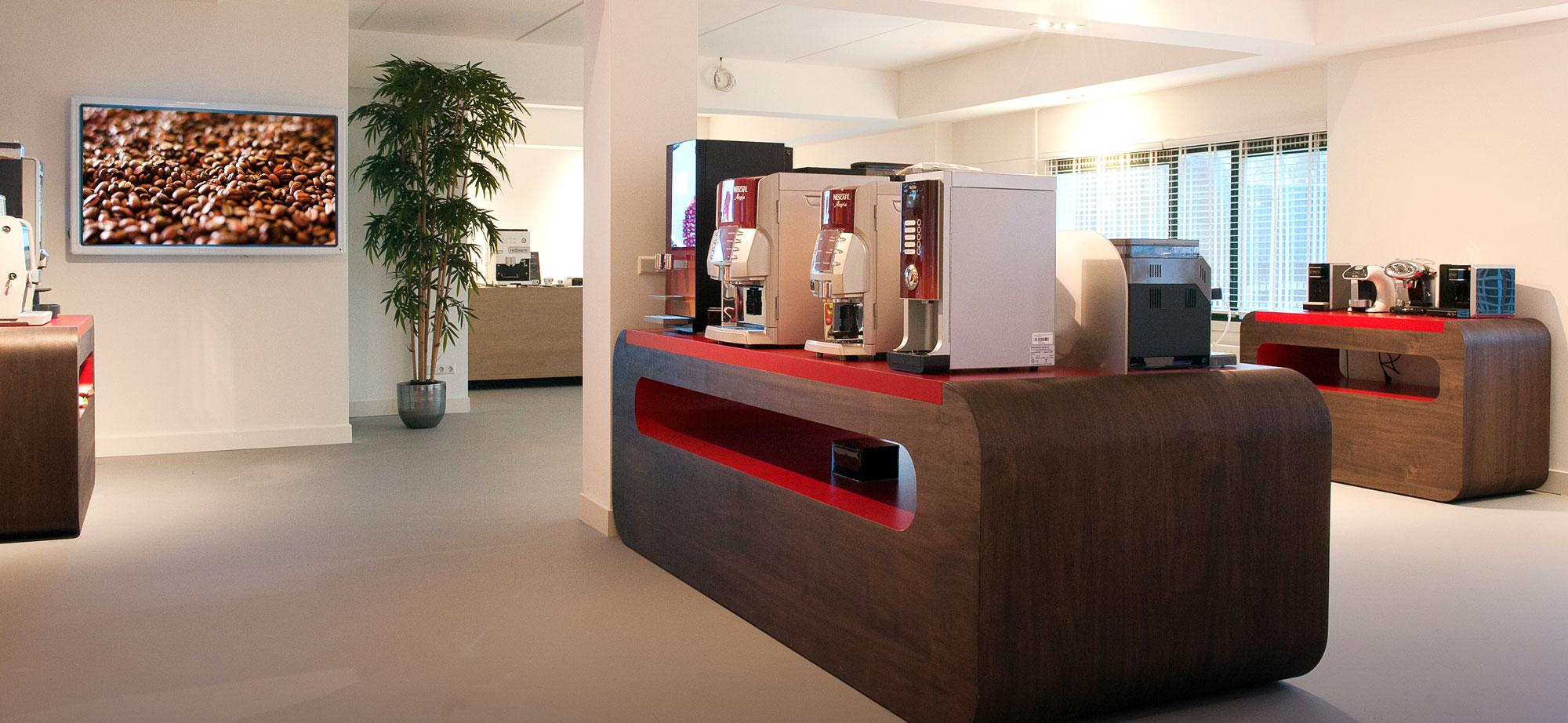 Echt koffie Showroom